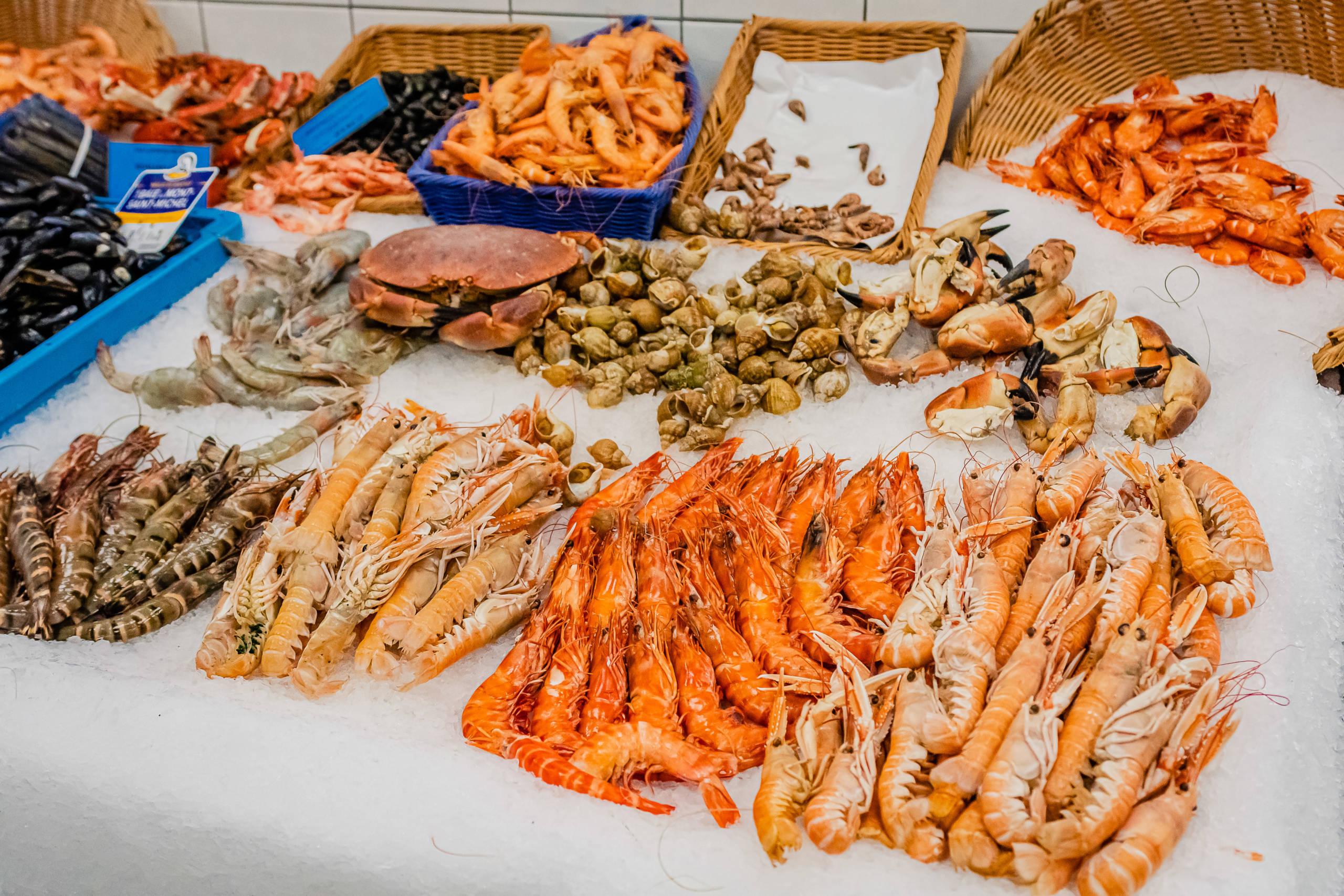 plateau de fruits de mer - poissonnerie messine